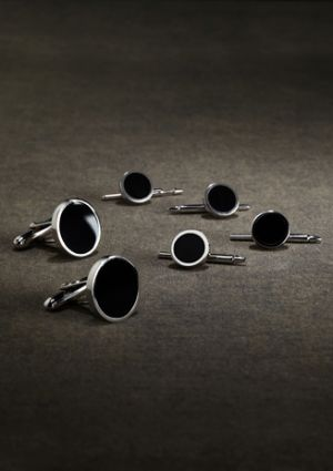 Gatsby clothing for men - Brooks Brothers - menswear from the 1920s cufflinks 918C_SILVER_G.jpg
